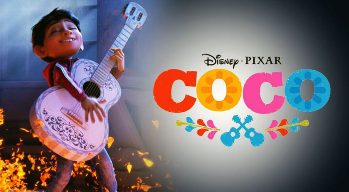 coco a boy with a guitar